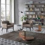 mesa auxiliar salón y sillones